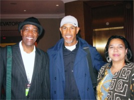 Jack, Kevin Turner (Guitarist for Kirk Whalum Band) and Alice Flowers