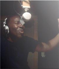 Rodney Hoskins in studio